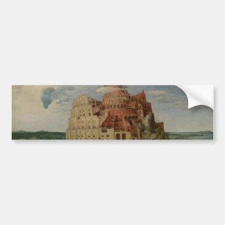 The Tower of Babel by Pieter Bruegel Bumper Sticker
