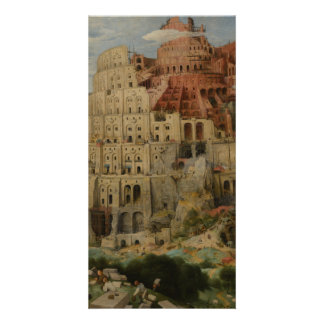 The Tower of Babel by Pieter Bruegel Card