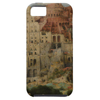 The Tower of Babel by Pieter Bruegel iPhone 5/5S Covers