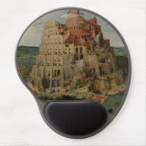 The Tower of Babel by Pieter Bruegel Gel Mouse Mat