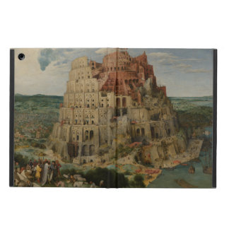 The Tower of Babel by Pieter Bruegel iPad Air Cover