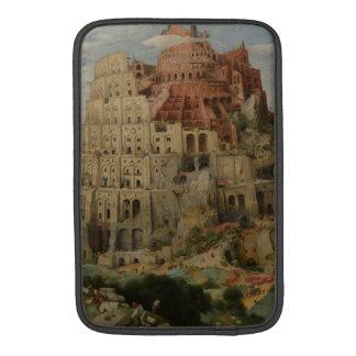 The Tower of Babel by Pieter Bruegel MacBook Air Sleeves