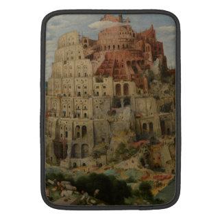 The Tower of Babel by Pieter Bruegel MacBook Sleeves