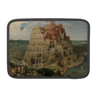 The Tower of Babel by Pieter Bruegel MacBook Air Sleeve