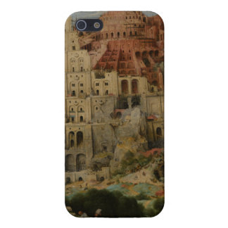 The Tower of Babel by Pieter Bruegel iPhone 5 Covers