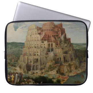The Tower of Babel by Pieter Bruegel Computer Sleeves