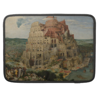 The Tower of Babel by Pieter Bruegel Sleeve For MacBooks