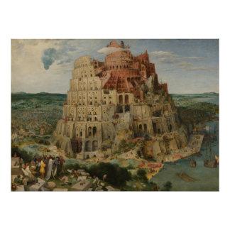 The Tower of Babel by Pieter Bruegel Photo Art
