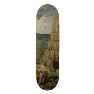 The Tower of Babel by Pieter Bruegel Skateboard
