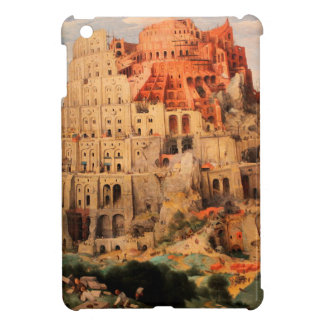 The Tower of Babel by Pieter Bruegel the Elder iPad Mini Cover
