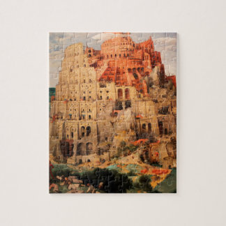 The Tower of Babel by Pieter Bruegel the Elder Jigsaw Puzzle