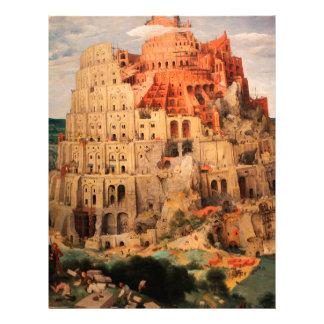 The Tower of Babel by Pieter Bruegel the Elder Letterhead