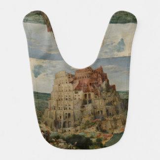 The Tower of Babel by Pieter Bruegel Bibs