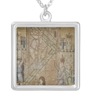 The Tower of Babel, from the Atrium Silver Plated Necklace
