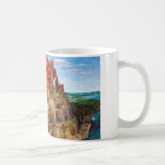 The Tower of Babel Pieter Bruegel the Elder art Coffee Mug