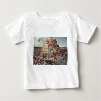 The Tower of Babel - Pieter Bruegel the Elder Baby T-Shirt