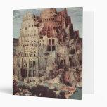 The Tower of Babel - Pieter Bruegel the Elder Vinyl Binder