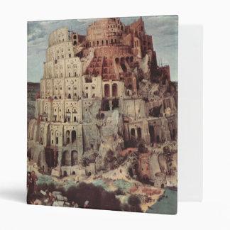 The Tower of Babel - Pieter Bruegel the Elder Binder