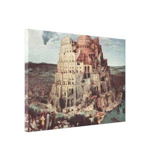 The Tower of Babel - Pieter Bruegel the Elder Canvas Print