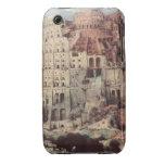 The Tower of Babel - Pieter Bruegel the Elder iPhone 3 Covers