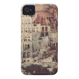 The Tower of Babel - Pieter Bruegel the Elder iPhone 4 Cover