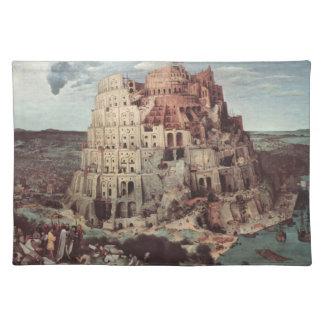 The Tower of Babel - Pieter Bruegel the Elder Cloth Place Mat