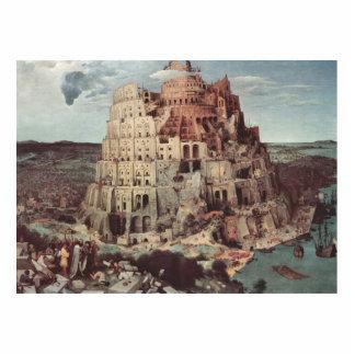 The Tower of Babel - Pieter Bruegel the Elder Cutout