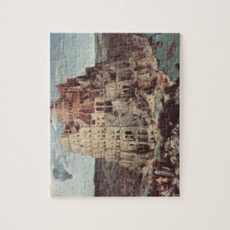 The Tower of Babel - Pieter Bruegel the Elder Jigsaw Puzzle