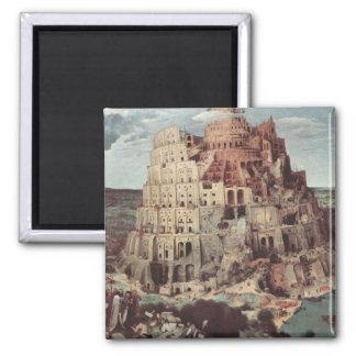 The Tower of Babel - Pieter Bruegel the Elder Magnet