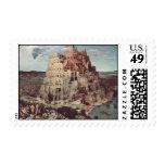 The Tower of Babel - Pieter Bruegel the Elder Stamps