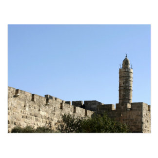 The tower of David Postcard