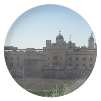 The Tower of London Dinner Plate