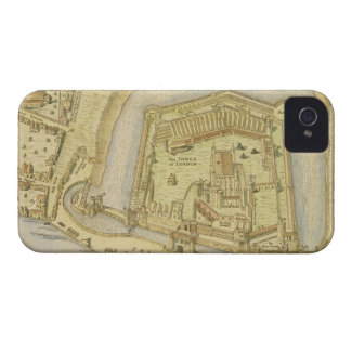 The Tower of London, from a survey made in 1597 by Case-Mate iPhone 4 Case