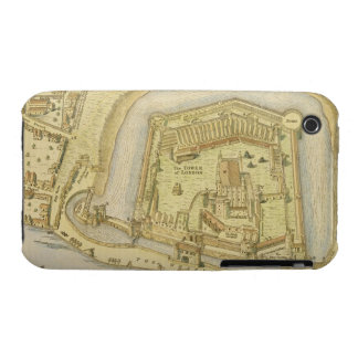 The Tower of London, from a survey made in 1597 by iPhone 3 Case-Mate Cases