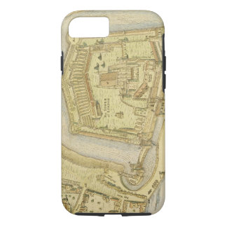 The Tower of London, from a survey made in 1597 by iPhone 7 Case