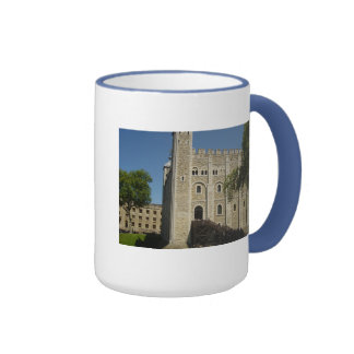 The Tower of London Ringer Coffee Mug