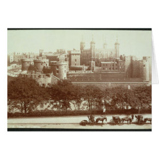 The Tower of London (sepia photo) Card