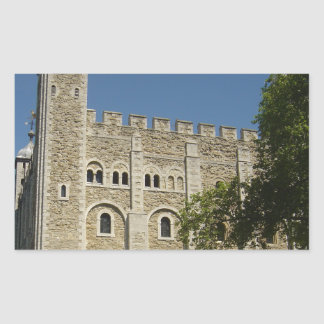 The Tower of London Rectangle Stickers
