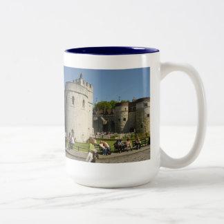 The Tower of London Two-Tone Coffee Mug