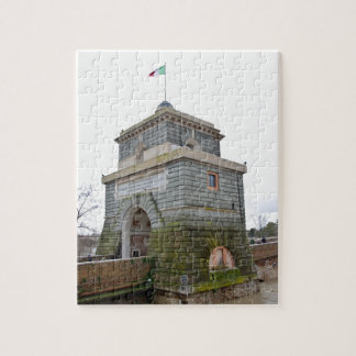 The tower of Ponte Milvio in Rome Jigsaw Puzzle
