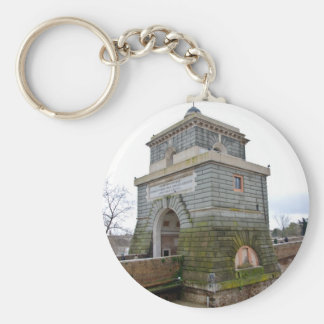 The tower of Ponte Milvio in Rome Keychain