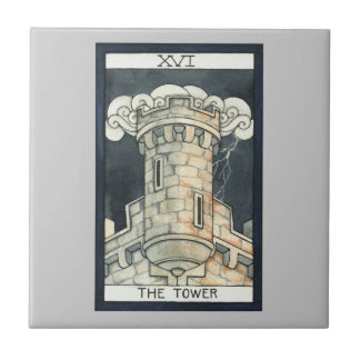 The Tower Small Square Tile