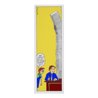 The Towering Stack Poster