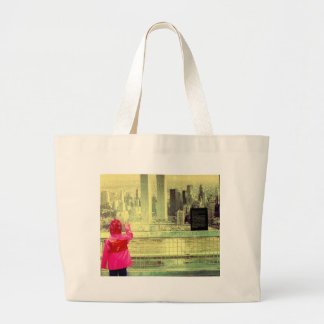 The Towers and a Child Tote Bags