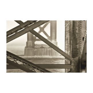 The Towers of the Golden Gate Bridge Canvas Print