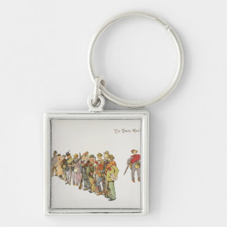 The Town Guard from The Leaguer of Ladysmith Keychain