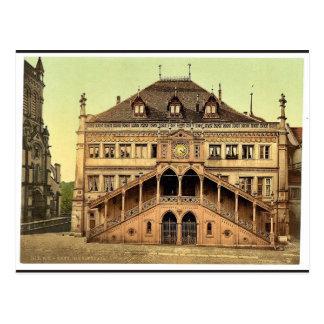 The town hall, Berne, Switzerland classic Photochr Postcard