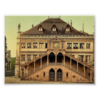 The town hall, Berne, Switzerland classic Photochr Print