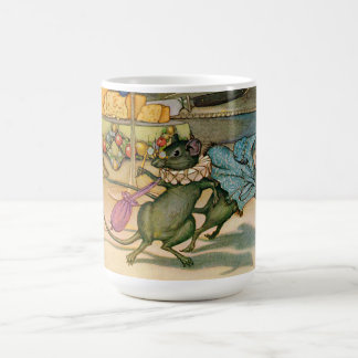 The Town Mouse and The Country Mouse Classic White Coffee Mug