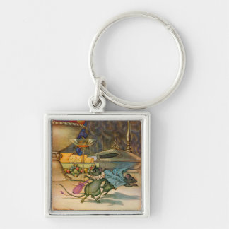 The Town Mouse and The Country Mouse Keychain